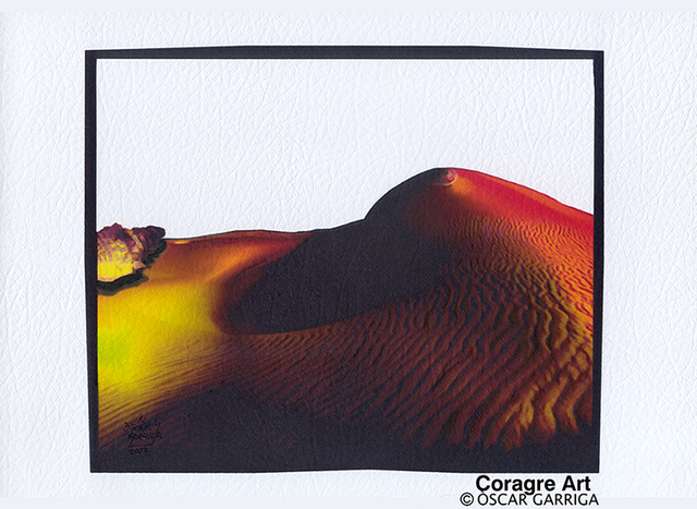 Oscar Garriga  'El Desert Que No Existeix', created in 2002, Original Digital Art.