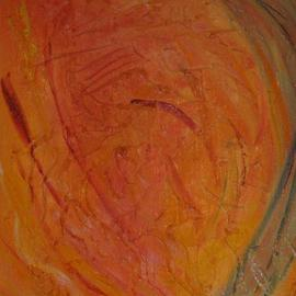 Cornelia Macfadyen: 'Fire N Ice', 2005 Oil Painting, Abstract.