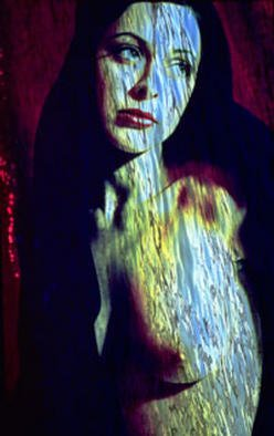 Corrie Ancone: 'ELLUSIVE DESIRE', 1998 Cibachrome Photograph, Abstract Figurative. PHOTOGRAPHIC OVERLAY...