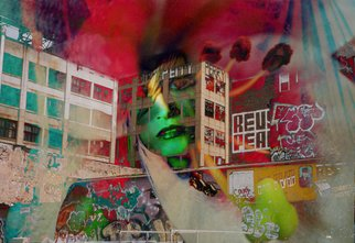 Corrie Ancone: 'NYc', 2010 Color Photograph, Conceptual. Artist Description:  photographic overlay ...