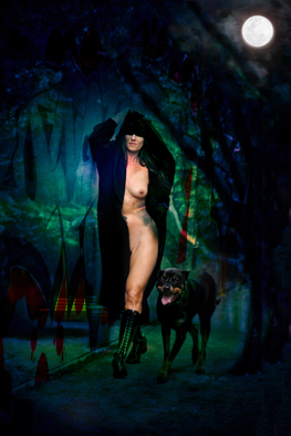 Artist: Corrie Ancone - Title: Nakedlady 16 - Medium: Color Photograph - Year: 2012