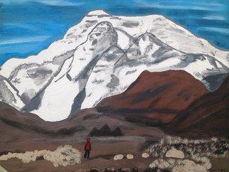 Lena Jones Artwork Bear in the mountan, 2015 Bear in the mountan, Landscape