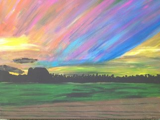 Lena Jones Artwork Morning Glory, 2015 Morning Glory, Landscape