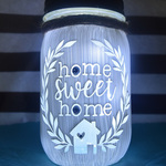 home sweet home jar By Amber Coombe