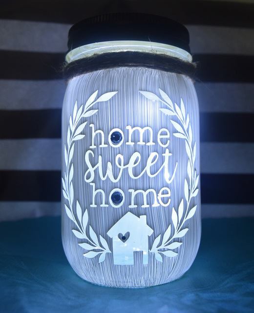 Amber Coombe  'Home Sweet Home Jar', created in 2020, Original Crafts.