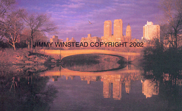Jimmy Winstead  'CENTRAL PARK', created in 1986, Original Photography Color.