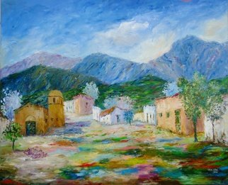 Artist: Cecilia Revol Nunez - Title: PARROQUIA DEL VALLES - Medium: Oil Painting - Year: 2014