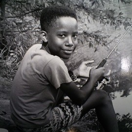 Carolyn Saunders: 'Nephew', 2009 Black and White Photograph, Family.