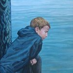 Boy by the Water By David Cuffari