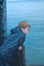 - artwork Boy_by_the_Water-1172152208.jpg - 2004, Painting Acrylic, Figurative