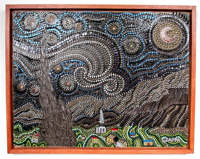 Bill Czappa  'Starry Starry Night', created in 2019, Original Assemblage.