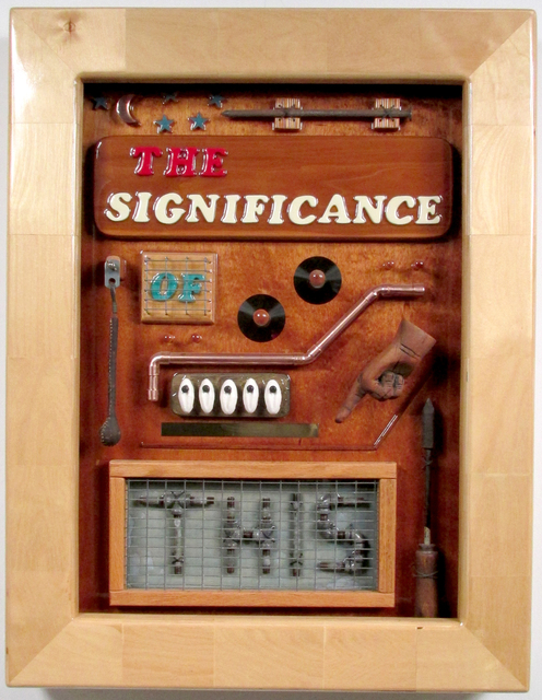 Bill Czappa  'The Significance Of This', created in 2003, Original Assemblage.