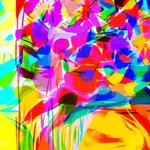 Abstract Flower Bouquet , Katie Pfeiffer