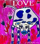 Artist: Katie Pfeiffer, title: Blue Spotted Love Cow, 2013, Digital Other