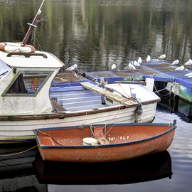 David Pierson: 'Fishing Boats In Donegal Two', 2012 Color Photograph, Scenic. Artist Description:  boat photo, sailboat images, boat pictures photos, pictures of a boat, boat photos, boats, boat, moody posters, dramatic posters, atmospheric posters, landscape pictures, landscape images, landscape photography, nature pictures, landscapes photos, landscape photos, nature photography            ...