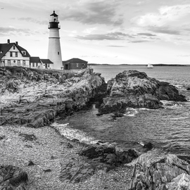 David Pierson: 'Portland Head Lighthouse One', 2012 Color Photograph, Scenic. Artist Description: moody posters, dramatic posters, atmospheric posters, landscape pictures, landscape images, landscape photography, nature pictures, landscapes photos, landscape photos, nature photography ...