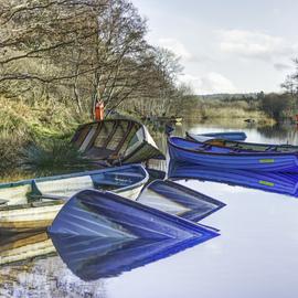 David Pierson: 'Sunken Rowboats In Kallarney', 2012 Color Photograph, Scenic. Artist Description: boat photo, sailboat images, boat pictures photos, pictures of a boat, boat photos, boats, boat, moody posters, dramatic posters, atmospheric posters, landscape pictures, landscape images, landscape photography, nature pictures, landscapes photos, landscape photos, nature photography           ...