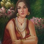 lady in thought By Damini Grover
