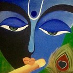 lord krishna By Damini Grover