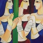 three ladies By Damini Grover