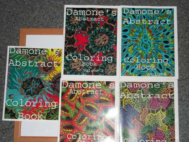 Damone Heins  'Coloring Books', created in 2010, Original Book.