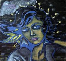 - artwork Girl_with_ears_harvest-1124621515.jpg - 2005, Painting Oil, Figurative