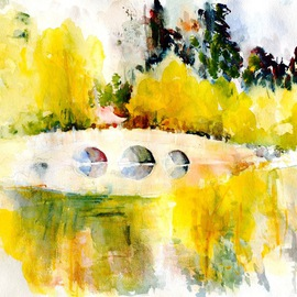 Chinese Bridge At The Gardens, Daniel Clarke