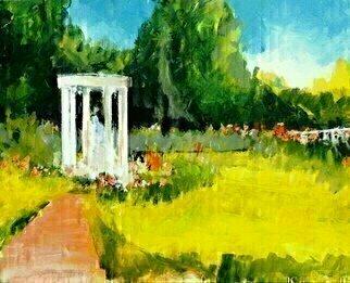 Daniel Clarke Artwork Huntington Rose Garden, 2015 Huntington Rose Garden, Landscape