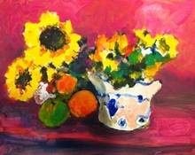 - artwork Modern_Still_Life-1335287986.jpg - 2012, Painting Acrylic, Still Life