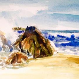 Morro Bay Rock Surf