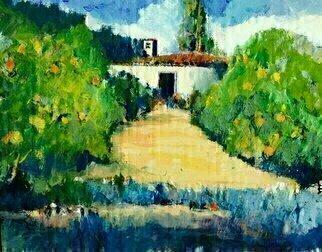 Daniel Clarke Artwork Old Mill Garden, 2015 Old Mill Garden, Landscape