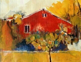 Artist: Daniel Clarke - Title: Sonoma Backyard - Medium: Acrylic Painting - Year: 2013