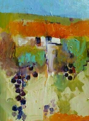 Artist: Daniel Clarke - Title: Sonoma Wine - Medium: Acrylic Painting - Year: 2011