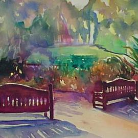 Two Chairs In the Park