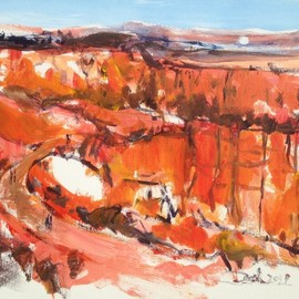 bryce canyon vista  By Daniel Clarke