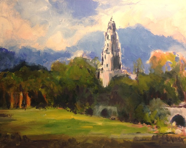 Daniel Clarke california tower balboa park 2017