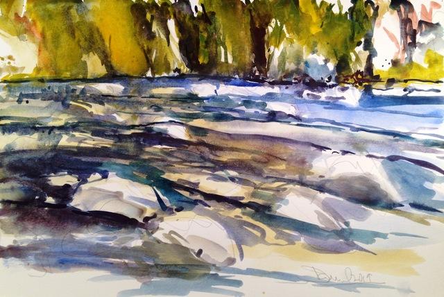 Daniel Clarke Mckenzie River Rocks