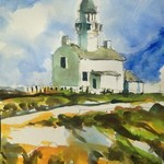 the lighthouse of cabrillo By Daniel Clarke