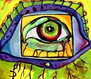 Artist: Daniela Isache - Title: Photo Camera - Medium: Oil Painting - Year: 2009