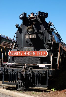 Artist: Daniel B. Mcneill - Title: American Freedom Train - Medium: Color Photograph - Year: 2011