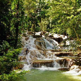 Daniel B. Mcneill Artwork Dunn River Falls Kingston Jamaica, 2011 Color Photograph, Music