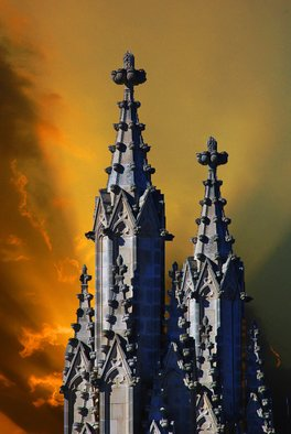 Artist: Daniel B. Mcneill - Title: The National Cathedral - Medium: Color Photograph - Year: 2011