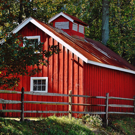 Daniel B. Mcneill Artwork The Red Barn, 2011 Color Photograph, Music