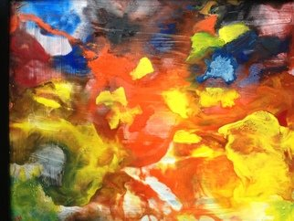 Daniel Ho Artwork untitled, 2012 Encaustic Painting, Abstract