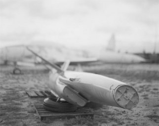 Daniel King: 'sky, ground', 2007 Silver Gelatin Photograph, Aviation.  Time spent in Tucson, AZ ...