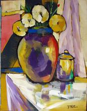 - artwork Tea_Time-1359611667.jpg - 2011, Painting Oil, Still Life