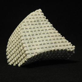 Daniel Oliveira: 'Untitled 3FL', 2013 Stone Sculpture, Abstract. Artist Description:    Abstract, limestone, sculpture   ...