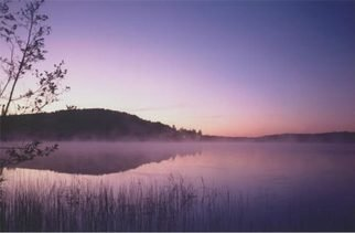 Daniel Rabinovich: 'Lake sunrise', 2003 Color Photograph, Landscape.  Lake sunrise, Canada, dawn,    ...