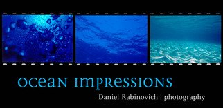 Daniel Rabinovich: 'Ocean Impressions', 2002 Color Photograph, Seascape.    Grand Cayman, underwater, reef sea, ocean, tropical, islands, Caribbean, scuba diving, cave,     ...