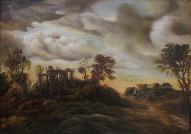Dan Scurtu Artwork: Sunset Scene